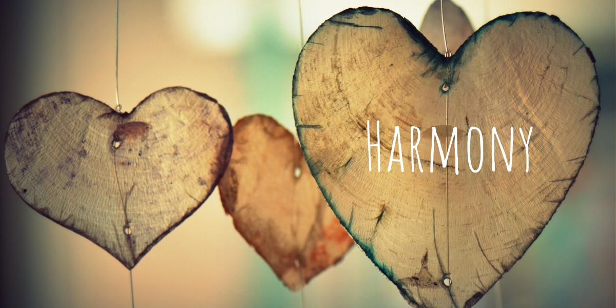 Mindset Shift: Harmony over Balance